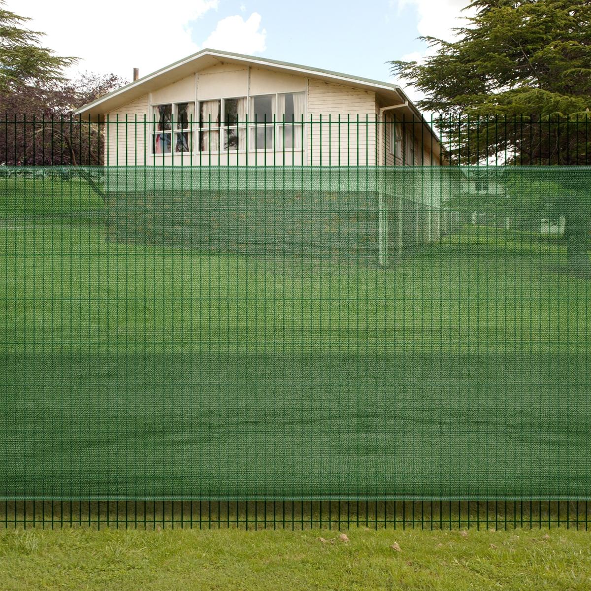 Brise vue pour clôture verte en Polyéthylène brise vue