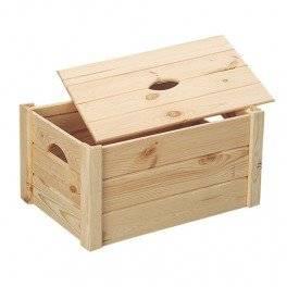 Caisse de rangement en bois, coffre à jouets: Cuisine
