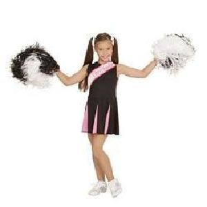 DÉGUISEMENT PANOPLIE Déguisement cheerleader rose et noir 8/10 ans