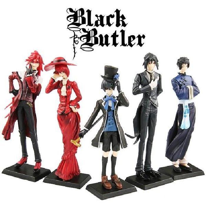 Lot de 5 figurines Black Butler Kuroshitsuji (1? Achat / Vente