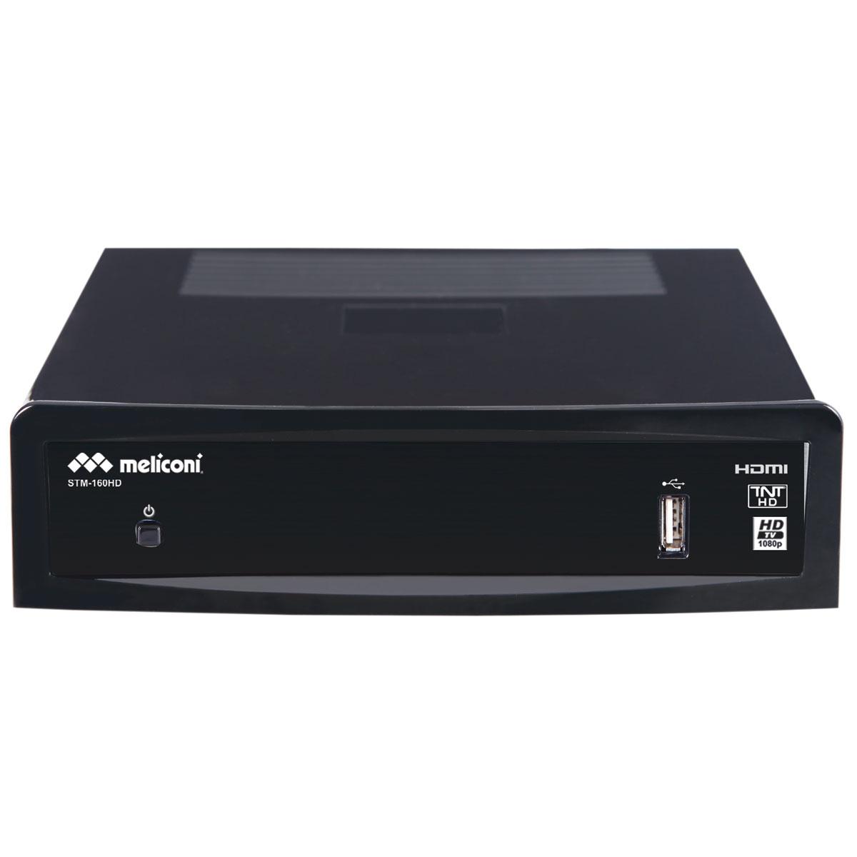 Meliconi STM 160HD Décodeur TNT HD avec enregistrement sur port USB