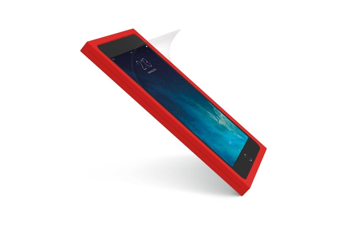tablette Logitech Coque de protection BLOK rouge pour iPad mini 2 et 3