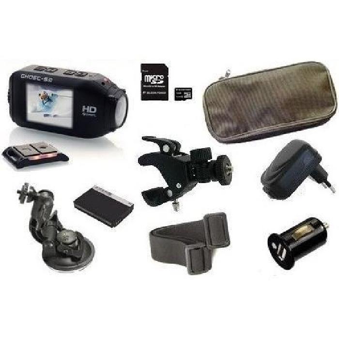 en achetant ce pack complet Drift HD Ghost S !!! 1 x Caméra DRIFT