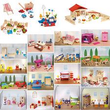 Maison Poupée Dollhouse Meubles De Poupée En Bois Accessoire Pour