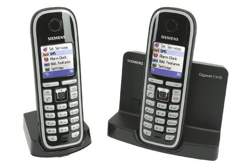 Téléphone sans fil Gigaset C 470 DUO NOIR (2598752)