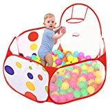 Newcomdigi Aire de Jeu Piscine à Balles pour Bébé Enfant Pliable