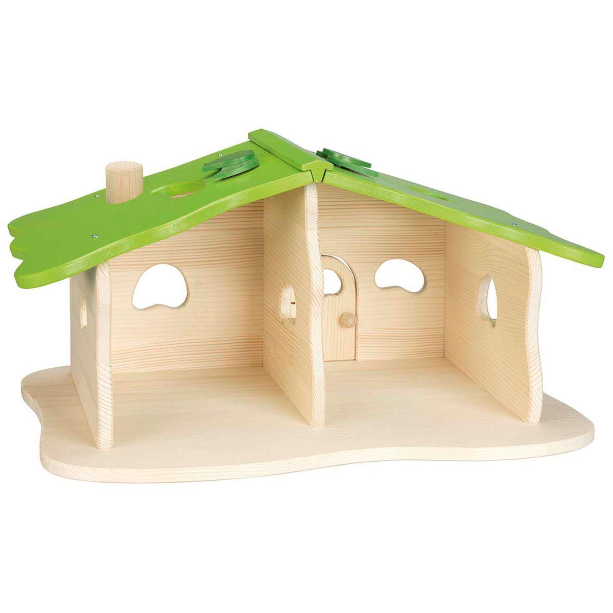 Maison de poupées : maison forestière Goki