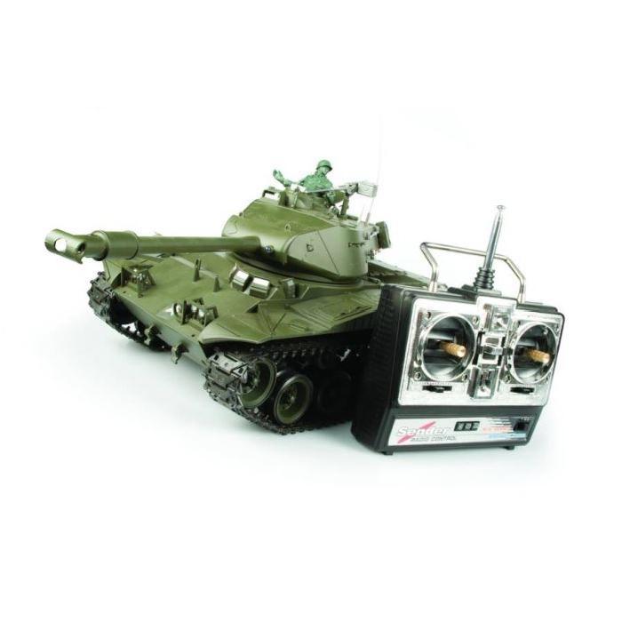 TANK RADIOCOMMANDE US M41A3 WALKER BULLDOG Achat / Vente voiture