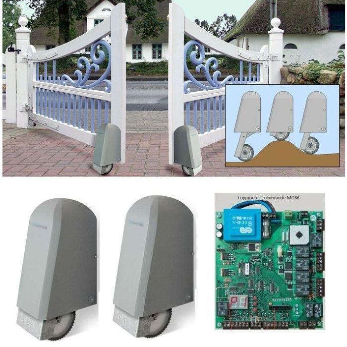 ELKA 8000193 Automatisme 24V ROLLER 2 pour portail Achat / Vente