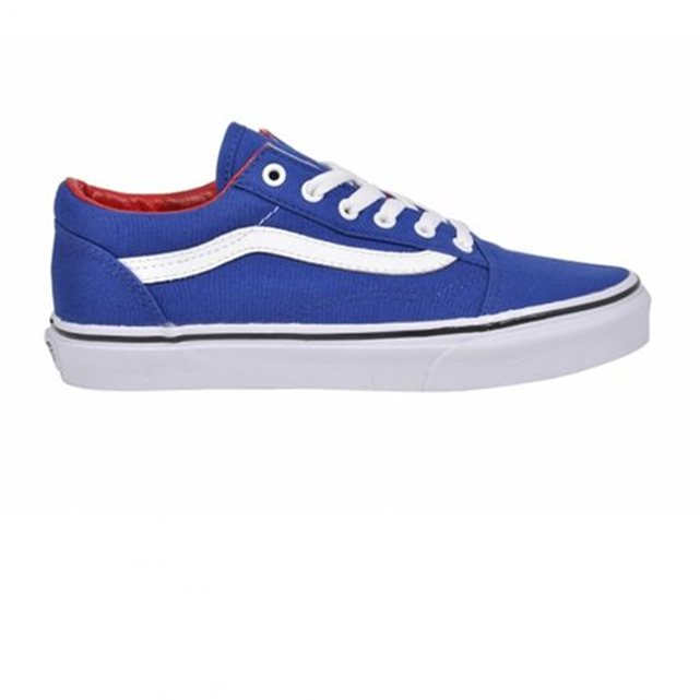 Chaussures k old skool true blue/racing red Bleu Vans