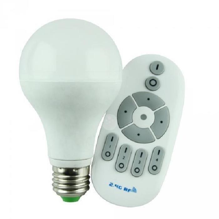 LED 12W avec variateur et télécommande Achat / Vente Ampoule LED