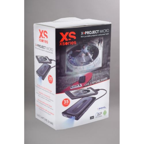 Xsories Videoprojecteur portable X Project Micro pas cher Achat