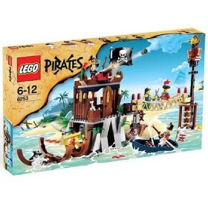 Lego Pirates Le Repaire des Pirates Achat / Vente univers miniature