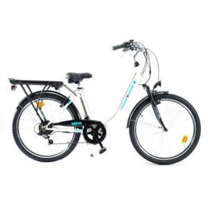 MAKADAM vélo électrique VAE 26″ E Town 36V 9Ah 6 vitesses Shimano