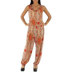 PANTALON Pantalon Imprimé Femme Combinaison Floral Sarouel