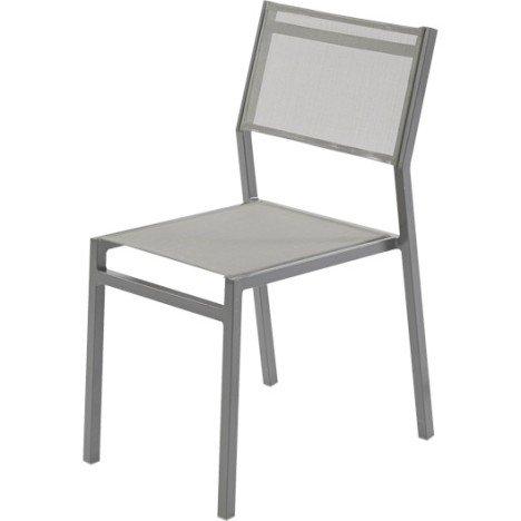 Chaise de jardin en aluminium Niagara gris |