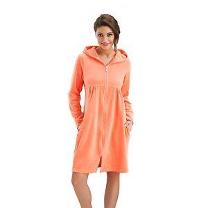 Robe de chambre femme avec fermeture
