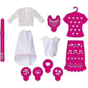 Barbie Cmj63 Accessoires VÊTEMENTS CrÉATION Design Rose