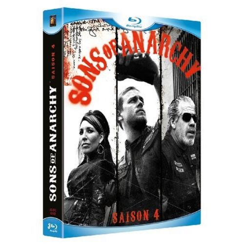 Blu Ray Sons Of Anarchy Saison 4 V.f Incluse pas cher Achat