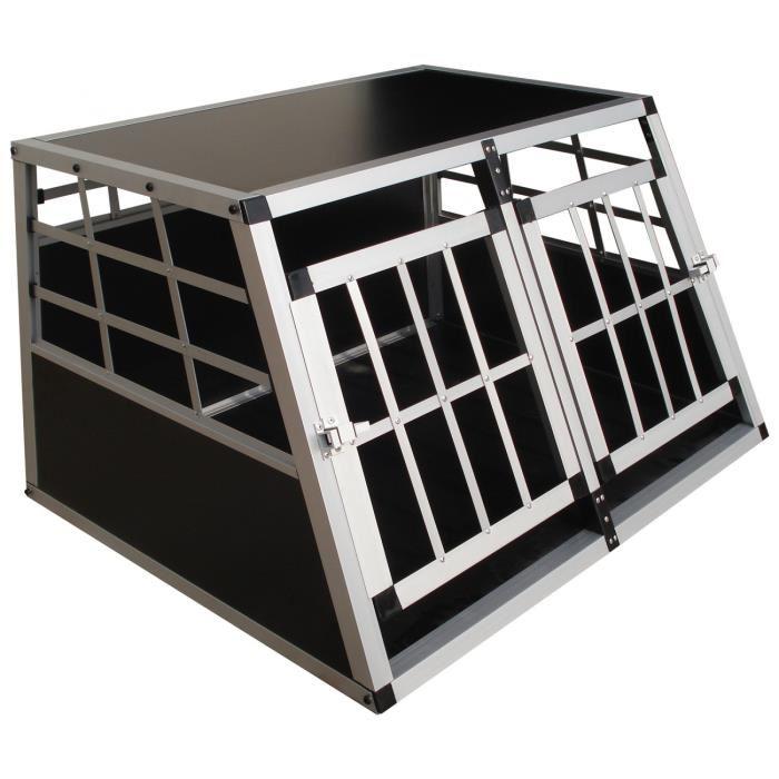 cage de transport pour chien en aluminium - topiwall