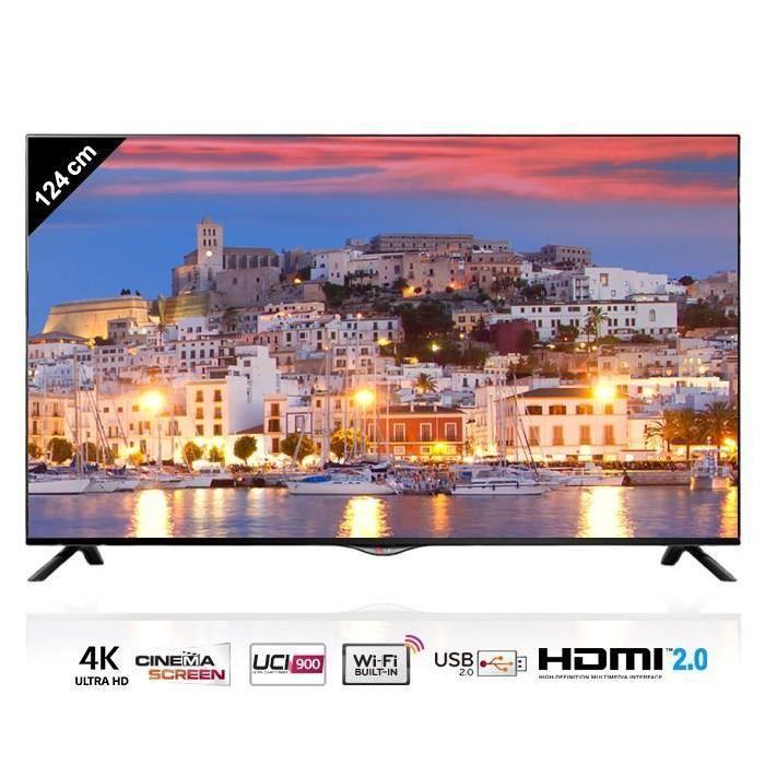 LG 49UB820 Smart TV Ultra HD 4K 124 cm téléviseur led, avis et