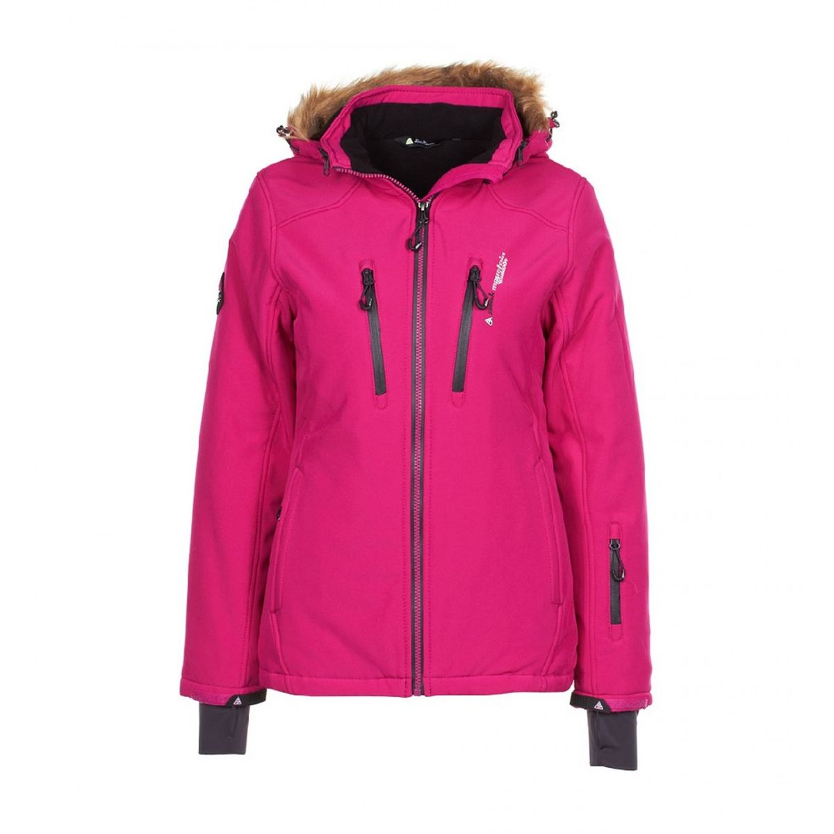 Peak mountain blouson de ski femme anada fushia Peak Mountain | La