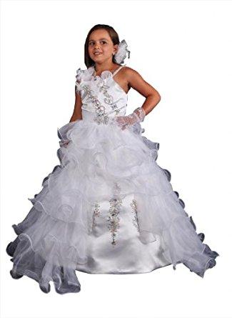 Robe de ceremonie Fille Robe de demoiselle d'honneur Robe de