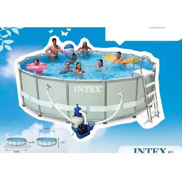 Liner piscine ronde topiwall for Achat piscine intex