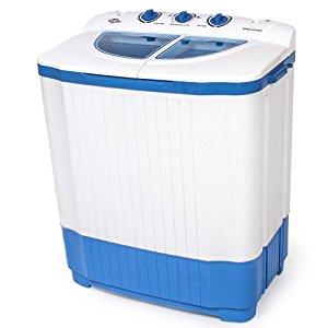 TecTake Mini machine a laver 4,5kg & essorer 3,5 kg Camping, studio et
