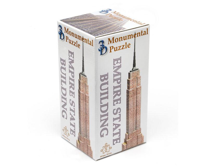3D Gebäude Puzzle Empire State Building