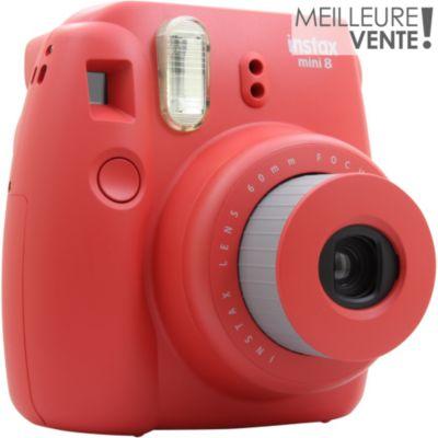 Appareil photo Instantané Fuji Instax Mini 8 Rouge