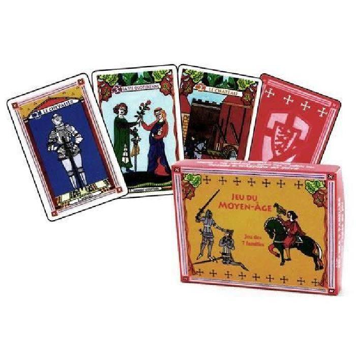 Jeu de 7 Familles 'Moyen Âge' Achat / Vente cartes de jeu